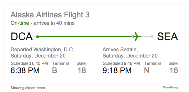 google-flight-info-search-box